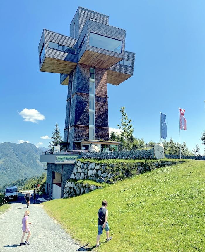 Jakobskreuz mit Kindern besuchen - Pillerseetal - Buchensteinwand