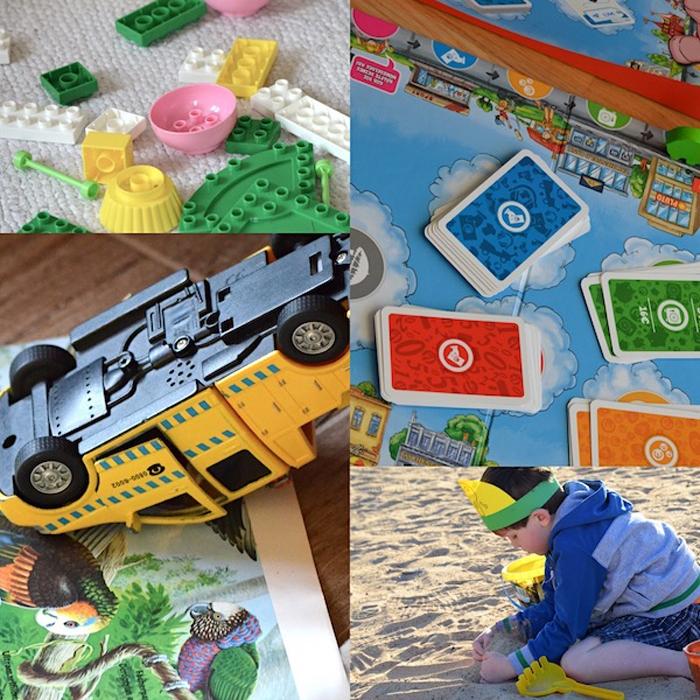 Kindergarten - wie ist das - Collage