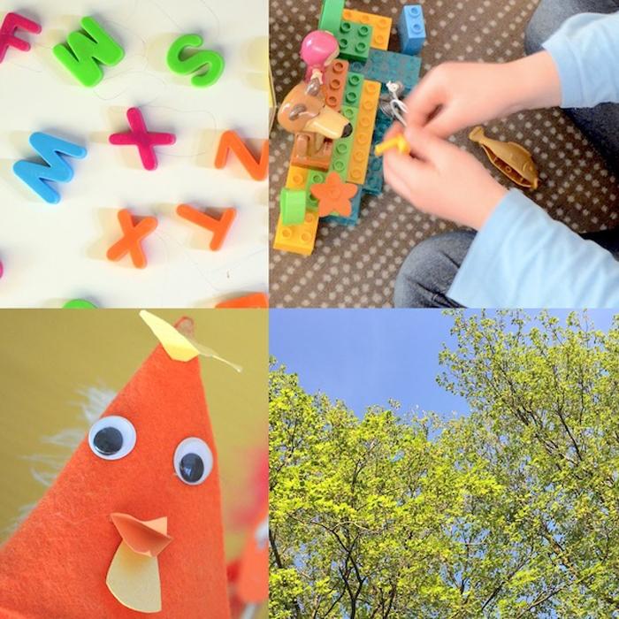 Kindergarten Collage