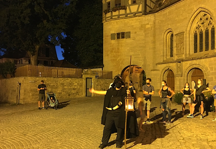 Nachtwanderung durch Rothenburg ob der Tauber