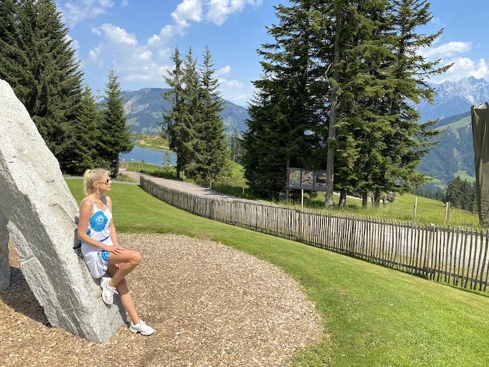 Panoramablick Timoks Welt Pillerseetal