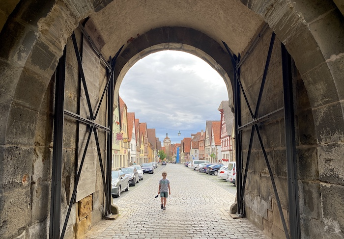 Rothenburg ob der Tauber mit Kids