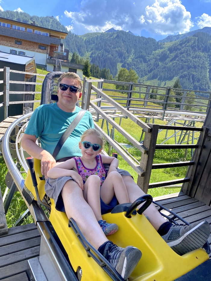 Timoks Alpine Coaster in Fieberbrunn