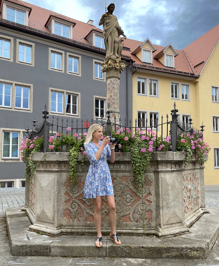 Elischeba Wilde - Touristin in Rothenburg ob der Tauber