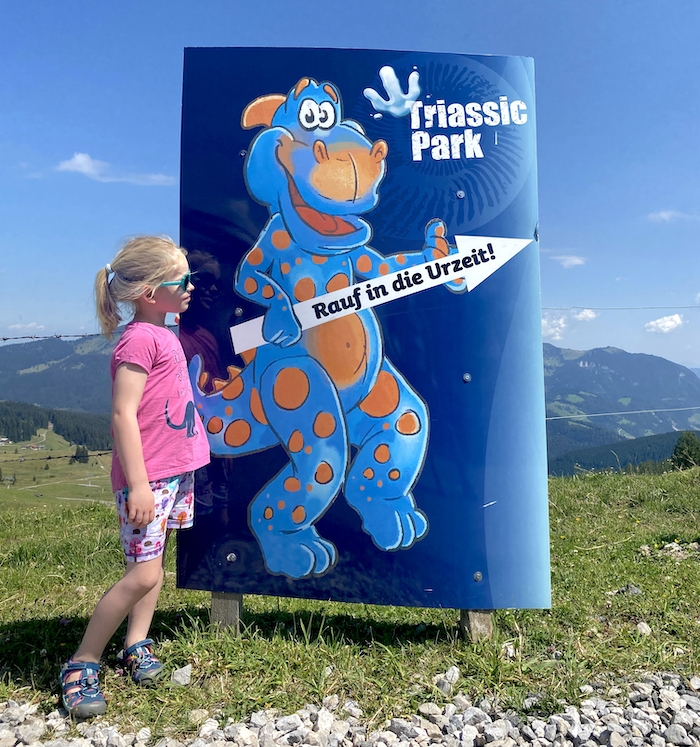 Triassic Park im Pillerseetal