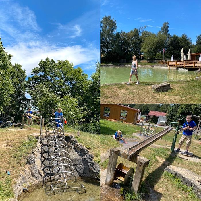 Wasser erleben - Spielplatz in Rothenburg ob der Tauber