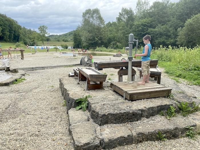 Wasserspielplatz am Münstersee