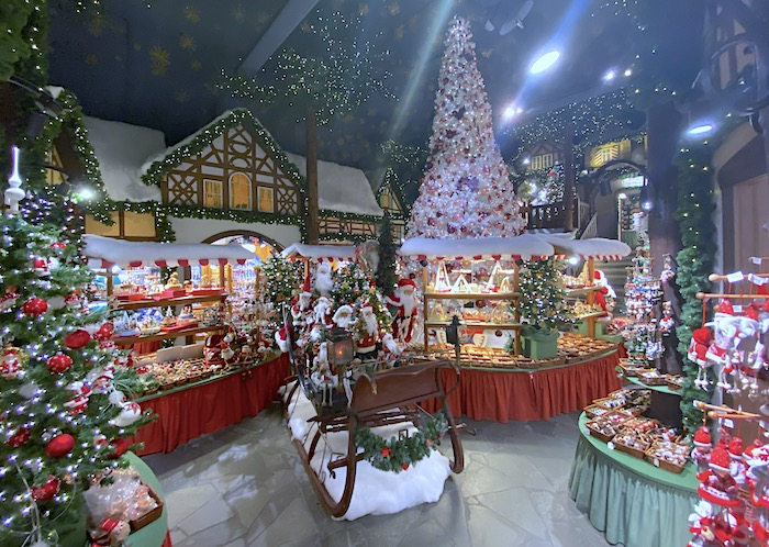 Weihnachtsdorf in Rothenburg ob der Tauber
