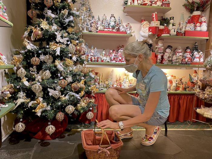 Elischeba im Weihnachtsdorf in Rothenburg ob der Tauber