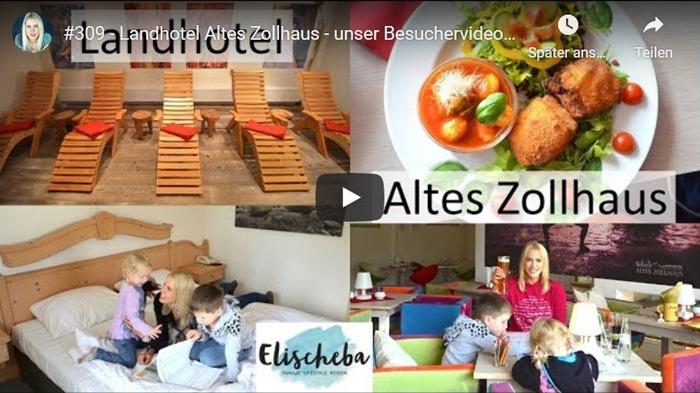 ElischebaTV_309 Landhotel Altes Zollhaus in Hermsdorf