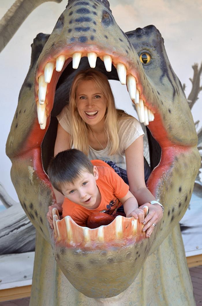 Dinopark in Niedersachsen - Elischeba und Leon