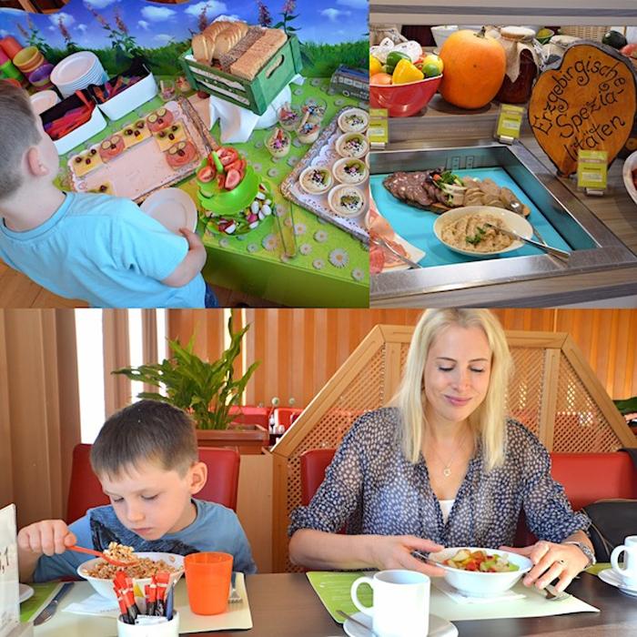 Erfahrungen zum Essen im Ahorn Hotel