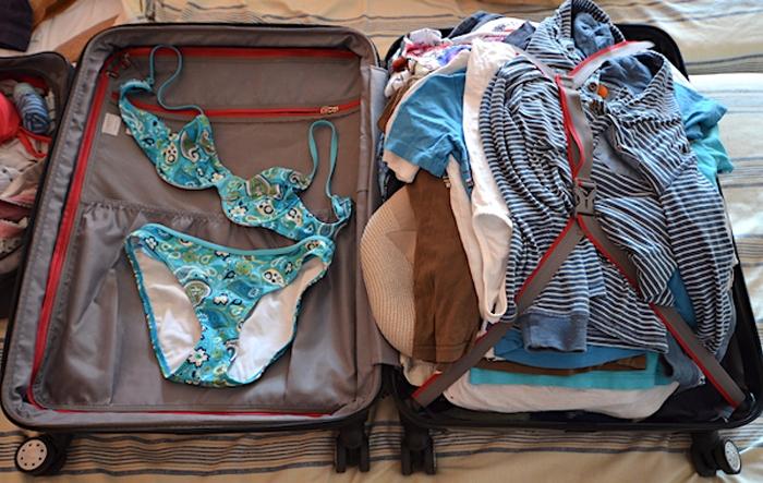 Gepäck Flugzeug - Flugreise nach Fuerteventura