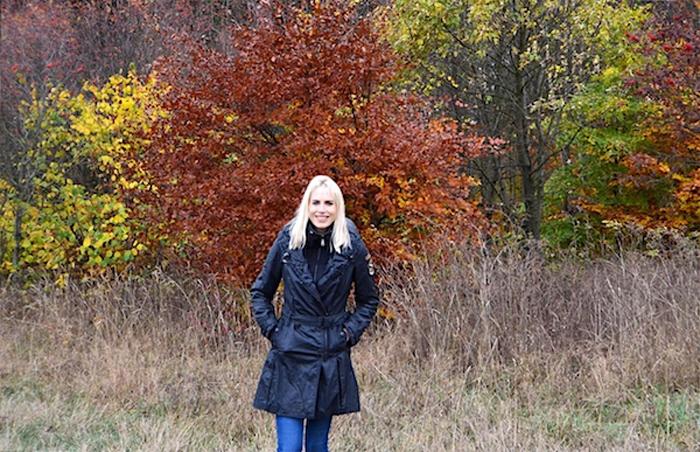 Herbstmode Winterjacke - Elischeba Wilde
