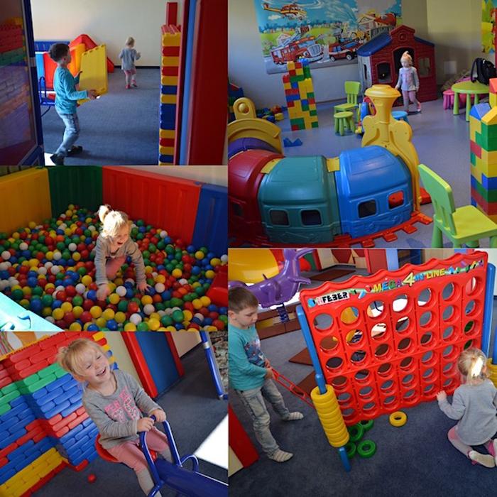 Indoor Spielplatz Ahorn Hotel