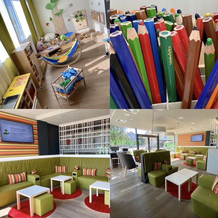 Kinderhotel in Bayern - Collage