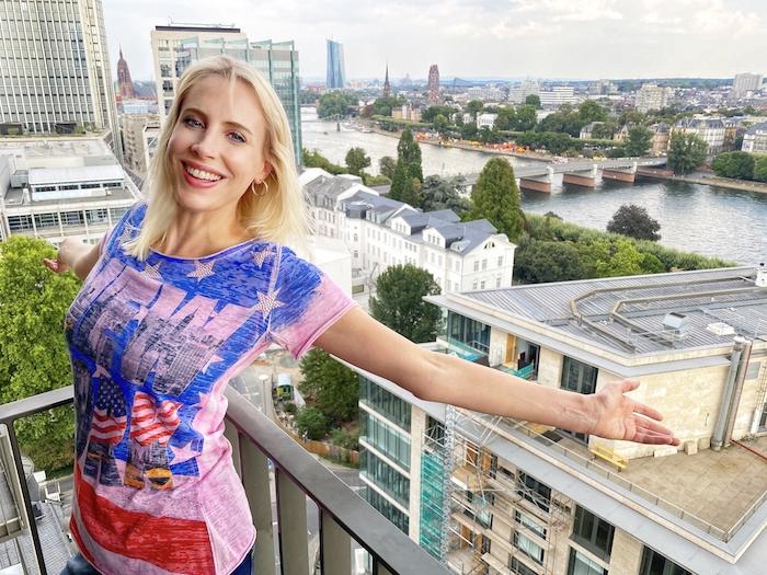 Elischeba Wilde präsentiert New York in Frankfurt