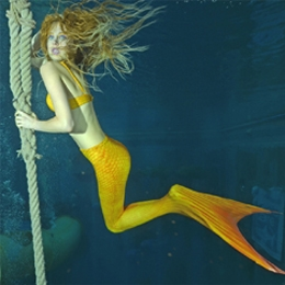 Elischeba Wilde - stylische Mermaid under water