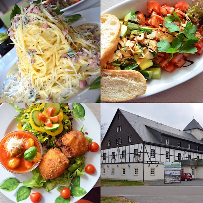 Speisekarte - leckere Speisen - Landhotel Altes Zollhaus