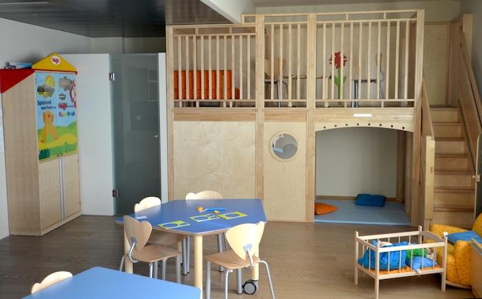 Spielraum für Kinder im Harrys Home Hotel München-Moosach