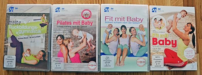 DVDs zur Rückbildungsgymnasitk aus dem 5W Verlag