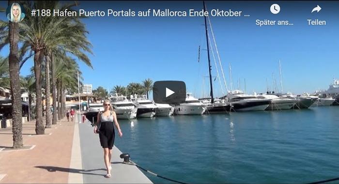ElischebaTV_188 Hafen Puerto Portals auf Mallorca