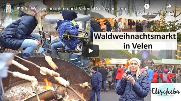 ElischebaTV 286 Waldweihnachtsmarkt in Velen