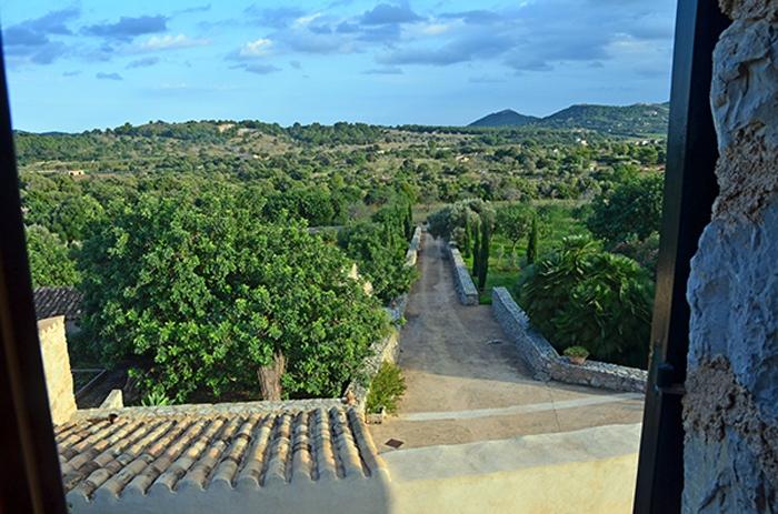 Ausblick von der Finca auf Mallorca