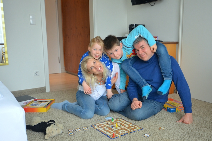 Familie Wilde im Hotel Jakobsberg