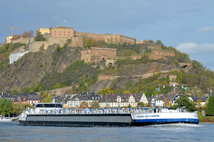 Koblenz - Blick auf den Rhein