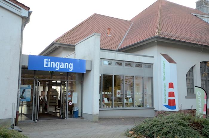 Eingang zum Küstenmuseum Wilhelmshaven
