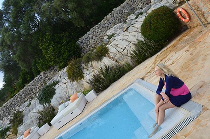 Elischeba Wilde im Romantikhotel auf Mallorca