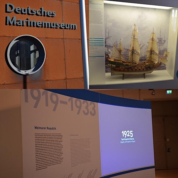 Deutsches Marinemuseum Wilhelmshaven - Collage