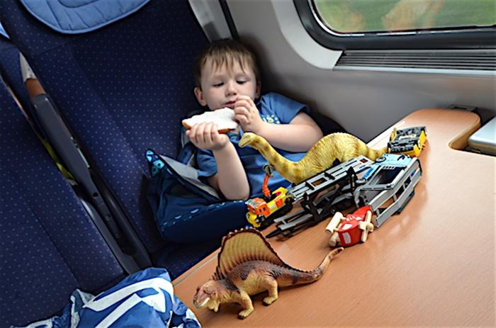 Im Zug - von Münster nach Hamburg