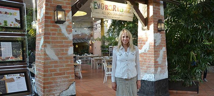 Restaurant Evergreenz im Center Parc in Zeeland