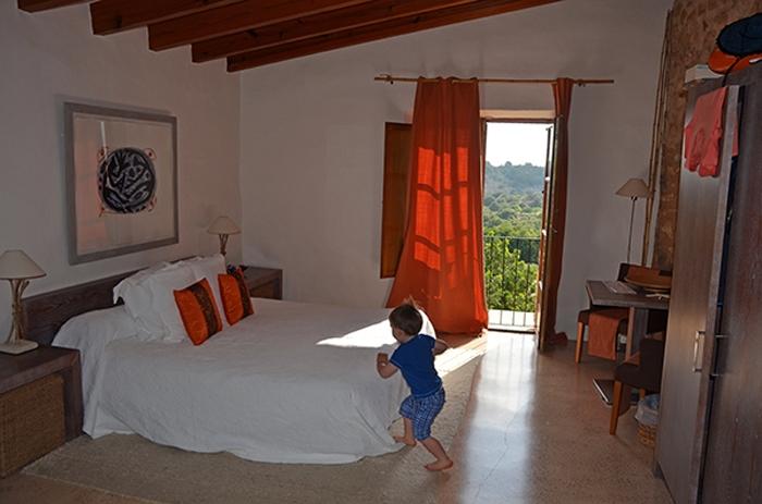 Zimmer im Romantikhotel auf Mallorca