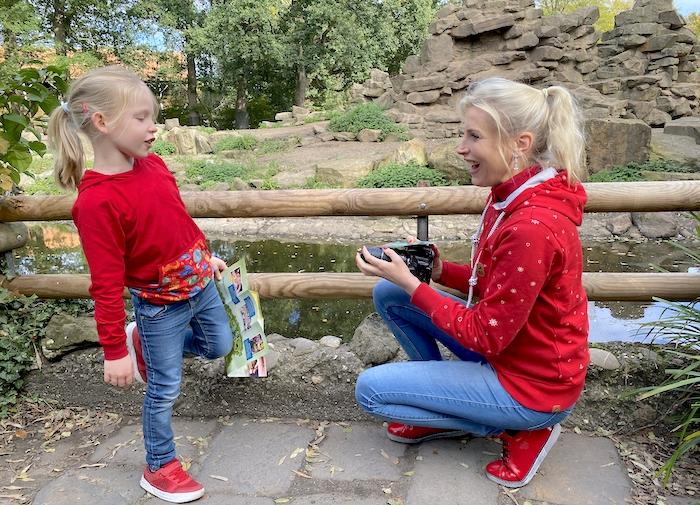 rote Mode für Mama und Kind - Elischeba Wilde