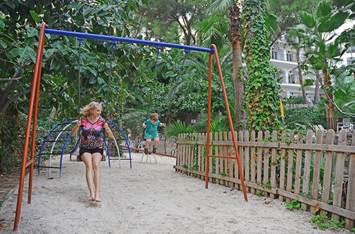 Spielplatz auf Mallorca - Hotel Bon Sol