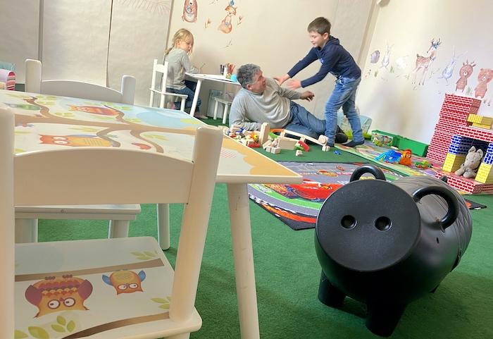 Spielzimmer im Hotel Jakobsberg - Kinder