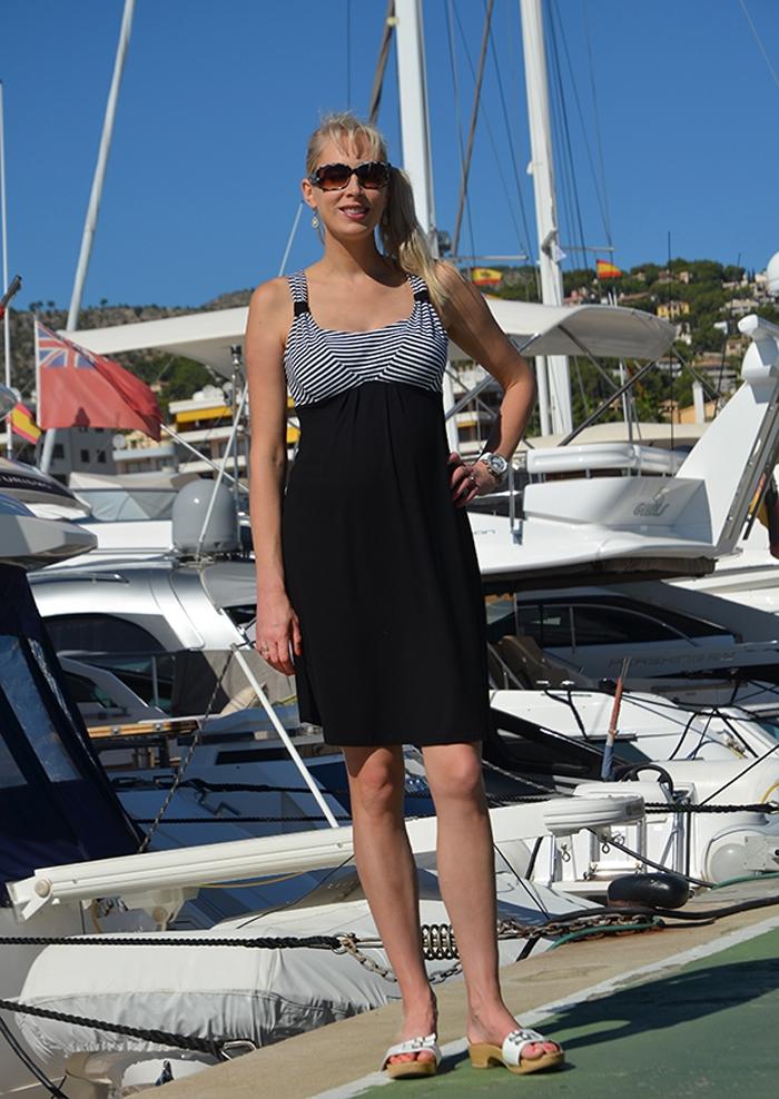 Elischeba Wilde im Yachthafen Puerto Portals