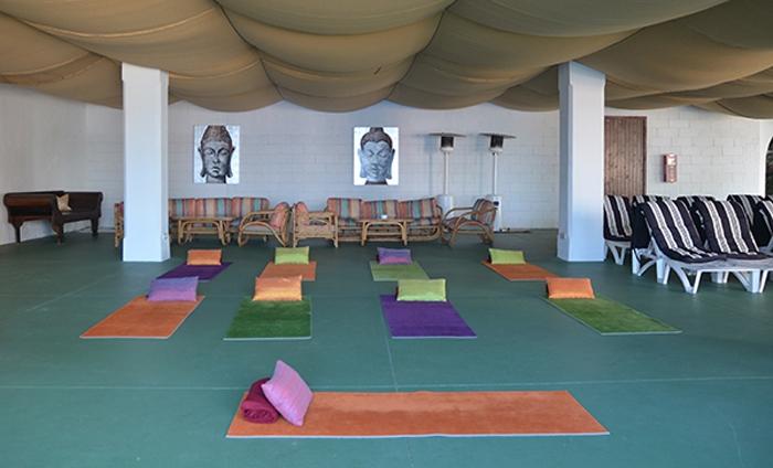 Yoga-Raum im Hotel Bon Sol auf Mallorca