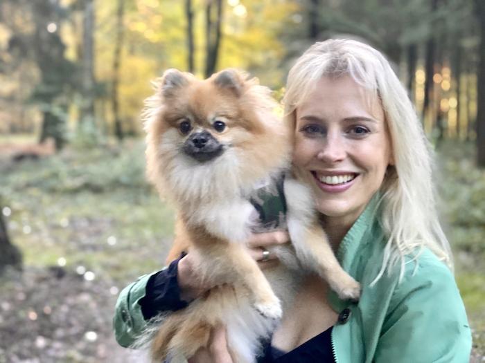 Elischeba mit Pomeranian Zwergspitz