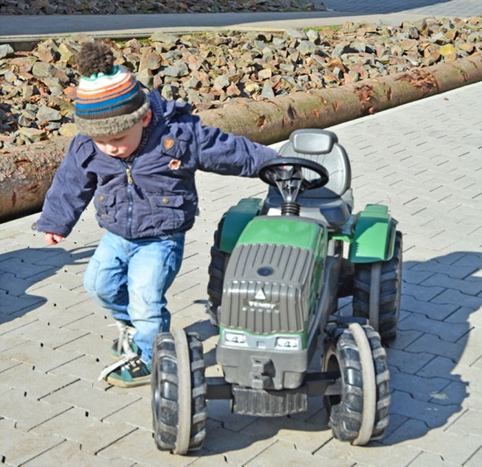 Autos - Traktor - Wildpark Frankenhof in Reken