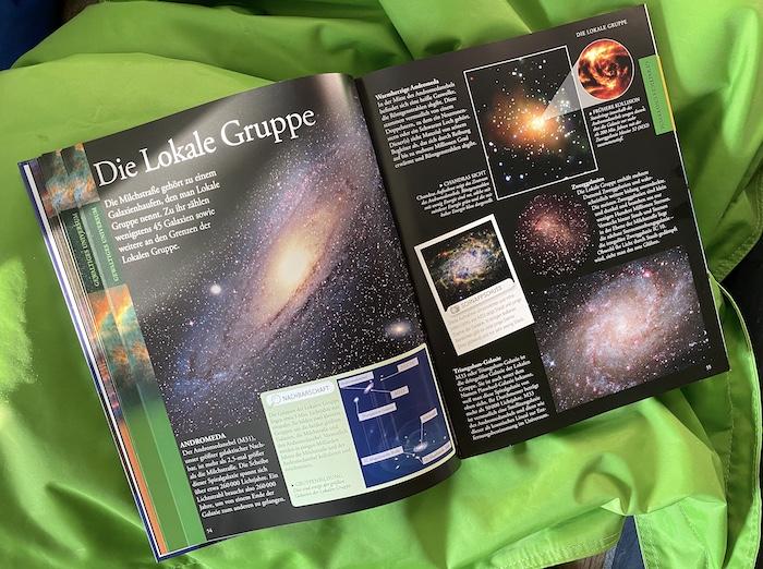 Buch über den Weltraum für Kinder