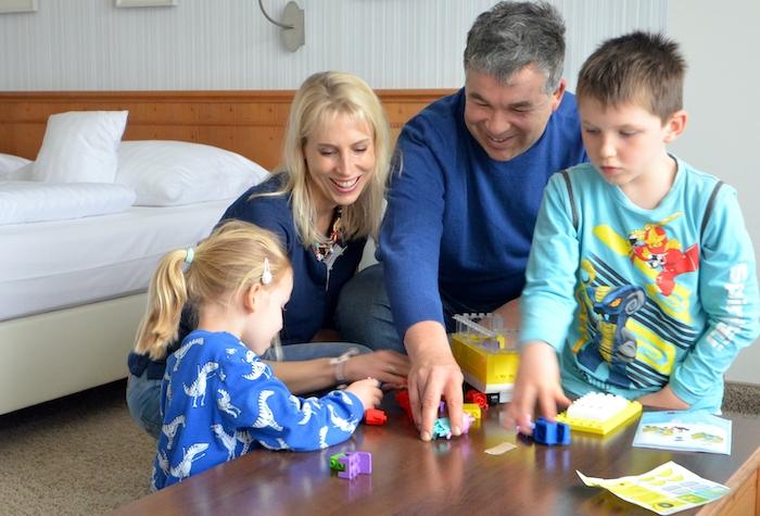 Familie Wilde - Familienfoto indoor