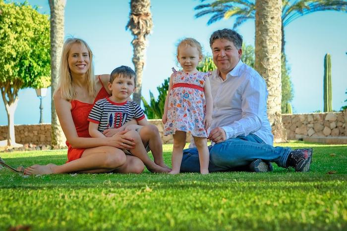 Family Wilde auf Fuerteventura - Shooting