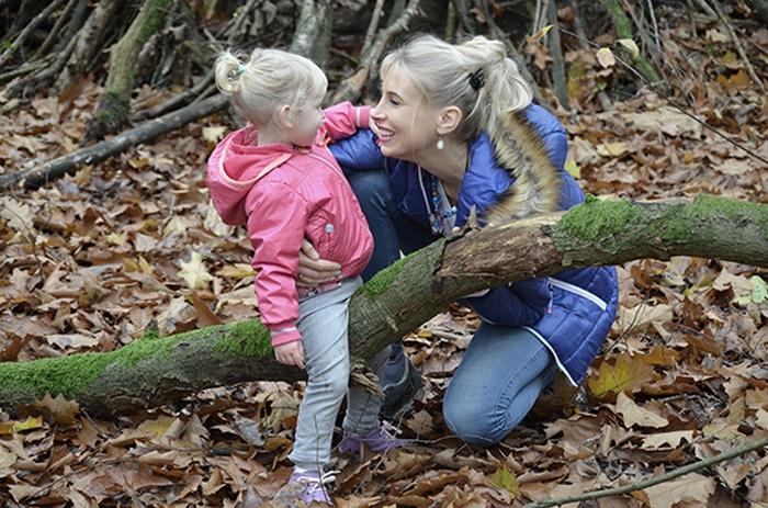 Mutter und Tochter - Elischeba und Emily