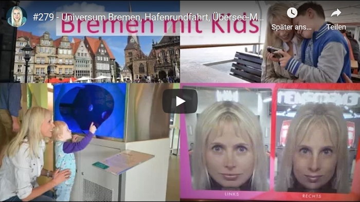 ElischebaTV_279 Bremen - Universum Hafenrundfahrt Übersee-Museum Marktplatz