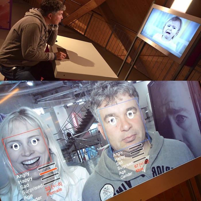 Ausstellung Mensch im Universum in Bremen - Collage