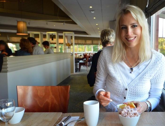Elischeba Wilde liebt Bircher Müsli